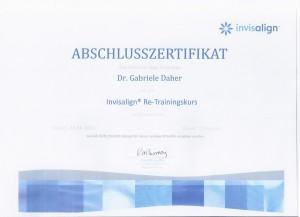 Urkunde_Invisalign