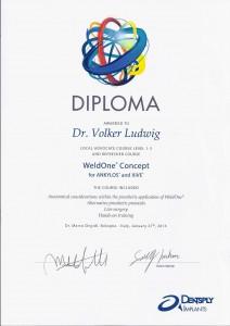 Urkunde_Weld One Concept_Dr. Ludwig