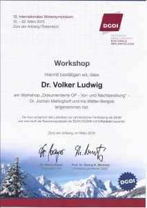 Zertifikat DGOI ZÜRS_Workshop 2_Dr. Volker Ludwig