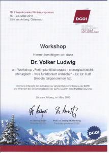Zertifikat DGOI ZÜRS_Workshop 3_Dr. Volker Ludwig