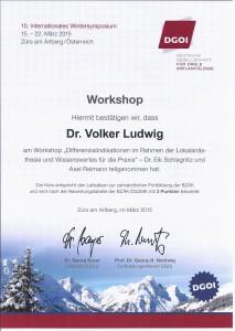 Zertifikat DGOI ZÜRS_Workshop 4_Dr. Volker Ludwig
