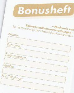 Quelle: Zahnarztpraxis Dr. Ludwig und Kollegen / Bonusheft