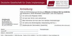 Quelle: Zahnarztpraxis Dr. Ludwig und Kollegen | Flyer 1. DGOI Sitzung 2017