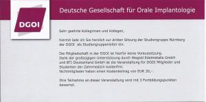 Sitzung der Studiengruppe Nürnberg