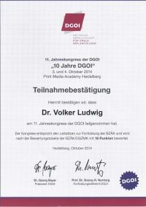 DGOI_11. Jahreskongress 2014