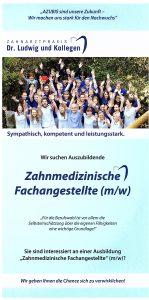 Quelle: Zahnarztpraxis Dr. Ludwig und Kollegen/AZUBI Flyer