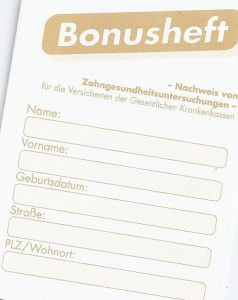 Quelle: Zahnarztpraxis Dr. Ludwig und Kollegen/Bonusheft