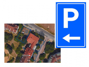 Quelle: Zahnarztpraxis Dr. Ludwig und Kollegen_Parkplätze
