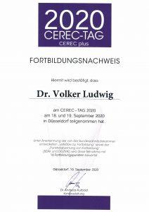Quelle: Zertifikat Dr. Ludwig_Zahnarztpraxis Dr. Ludwig und Kollegen